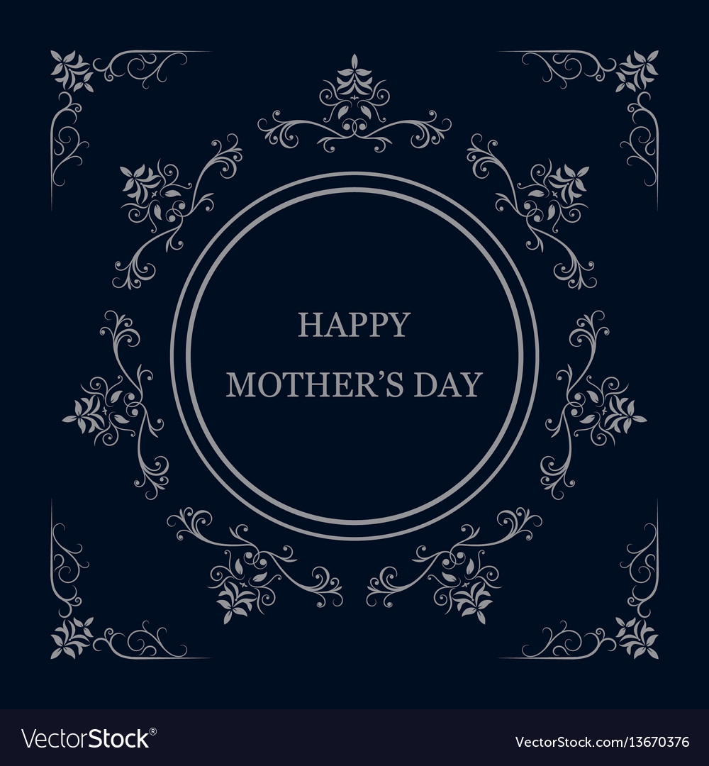 Greeting card for mother s day