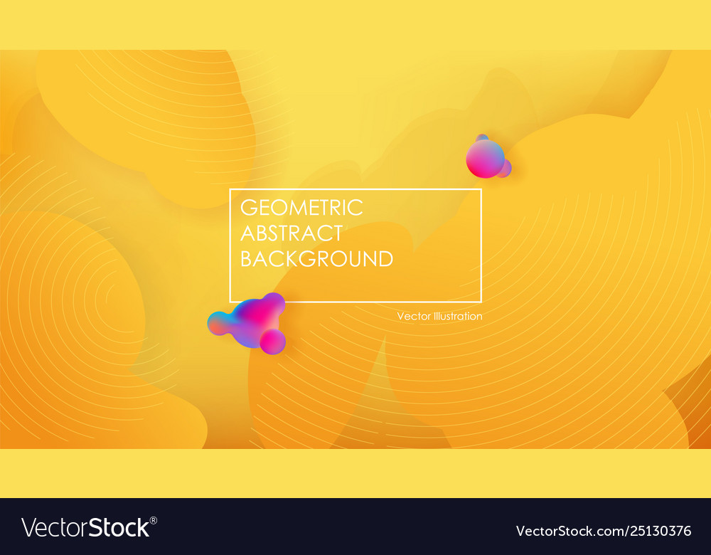 Liquid color background design fluid yellow