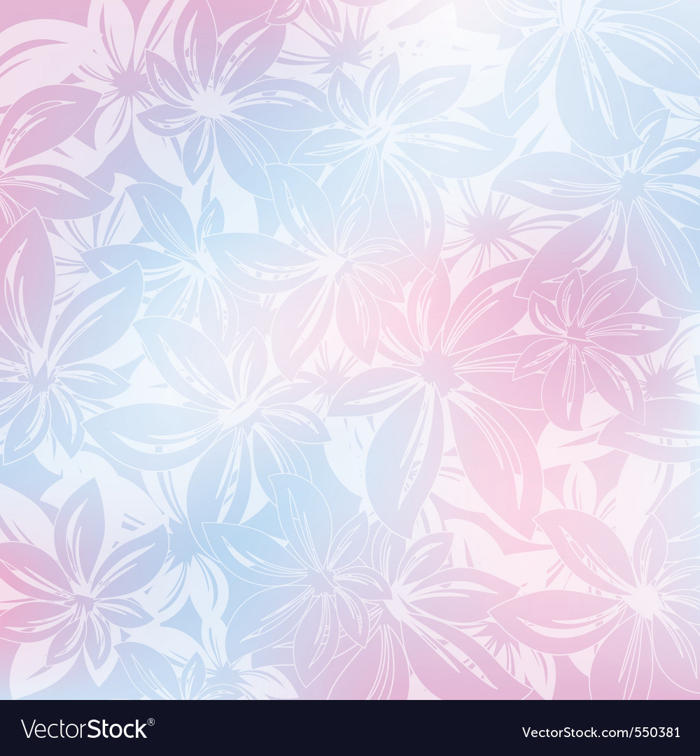 Floral background design vector illustration
