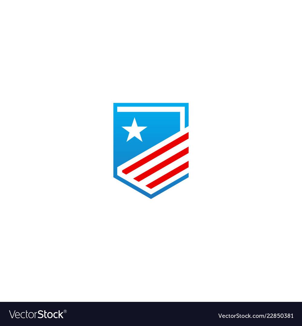 Shield star protect company logo