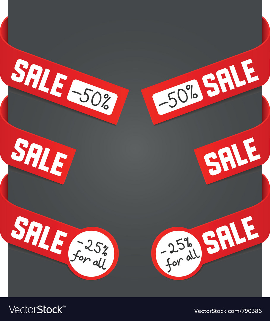 Left and right side signs - sale