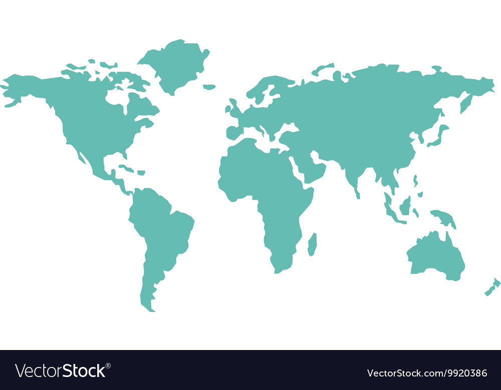 World map countries geography royalty free vector image world map countries geography vector image gumiabroncs Gallery