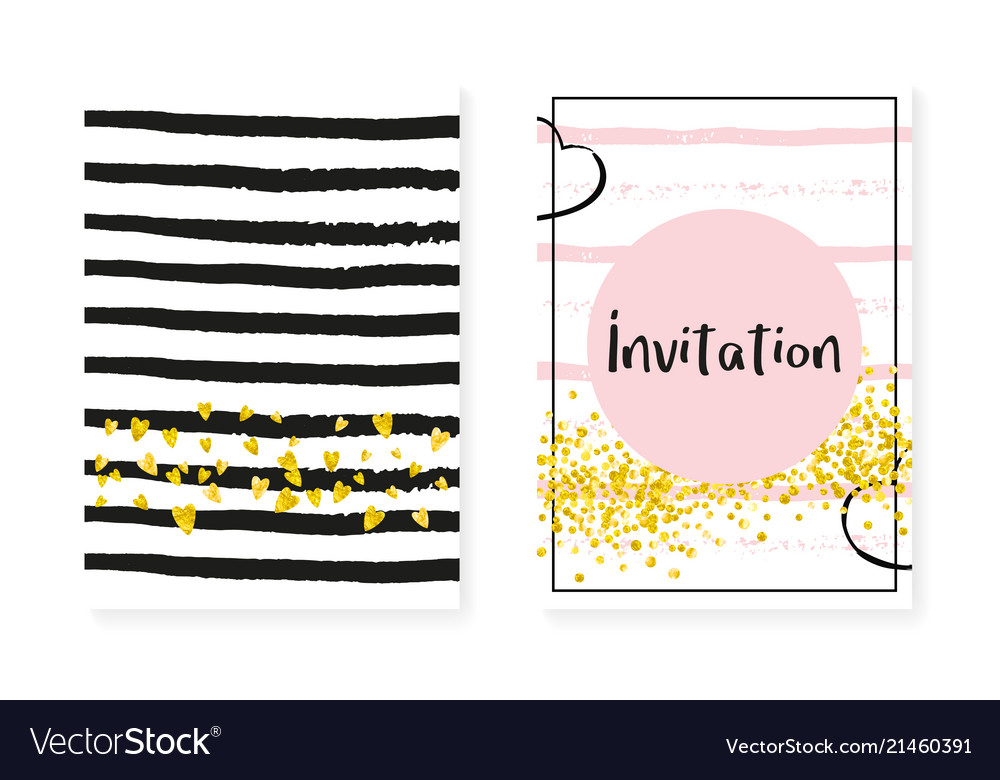 Bridal shower set with dots and sequins wedding