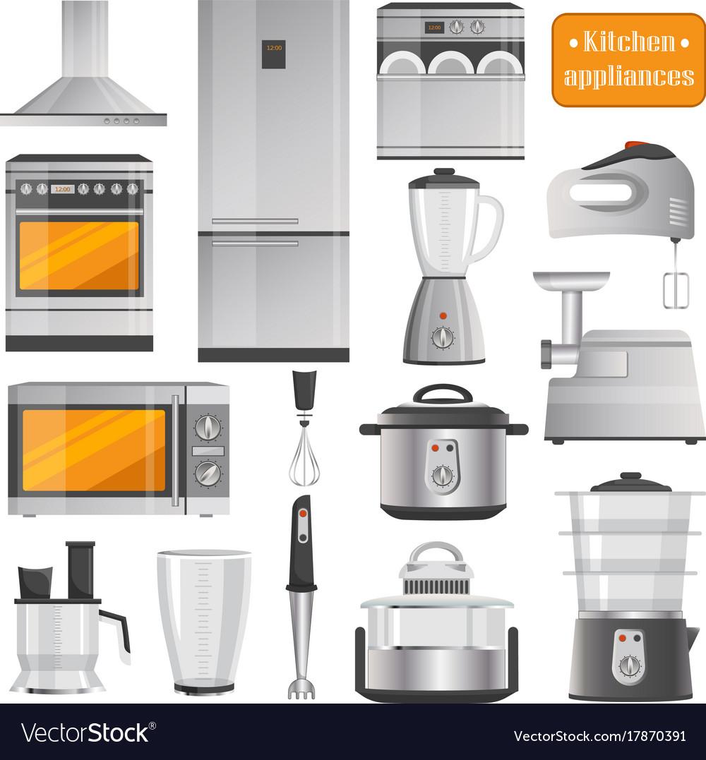 Kitchen Electric Appliances Big Set