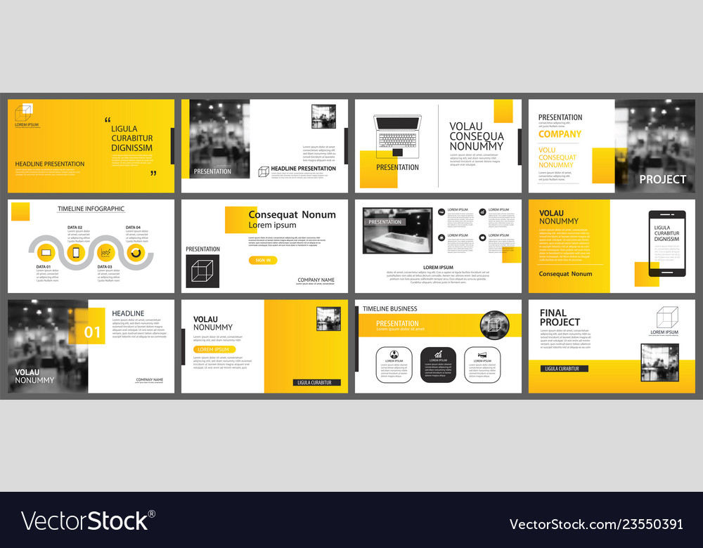 Presentation and slide layout background design