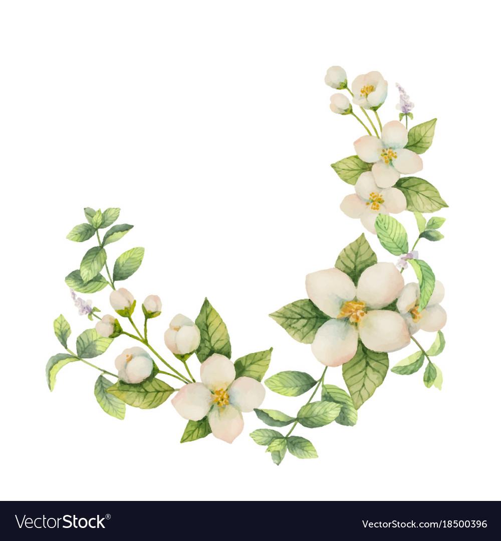 Wreath of flowers 69