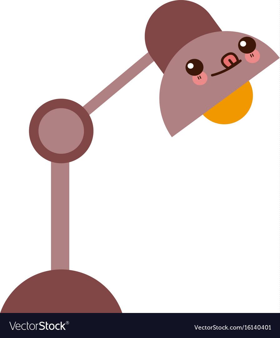 Kawaii desk lamp electric bulb light element