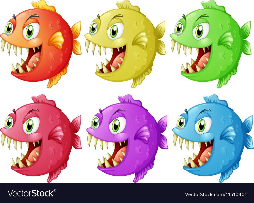 six-fish-with-sharp-teeth-vector-1151040