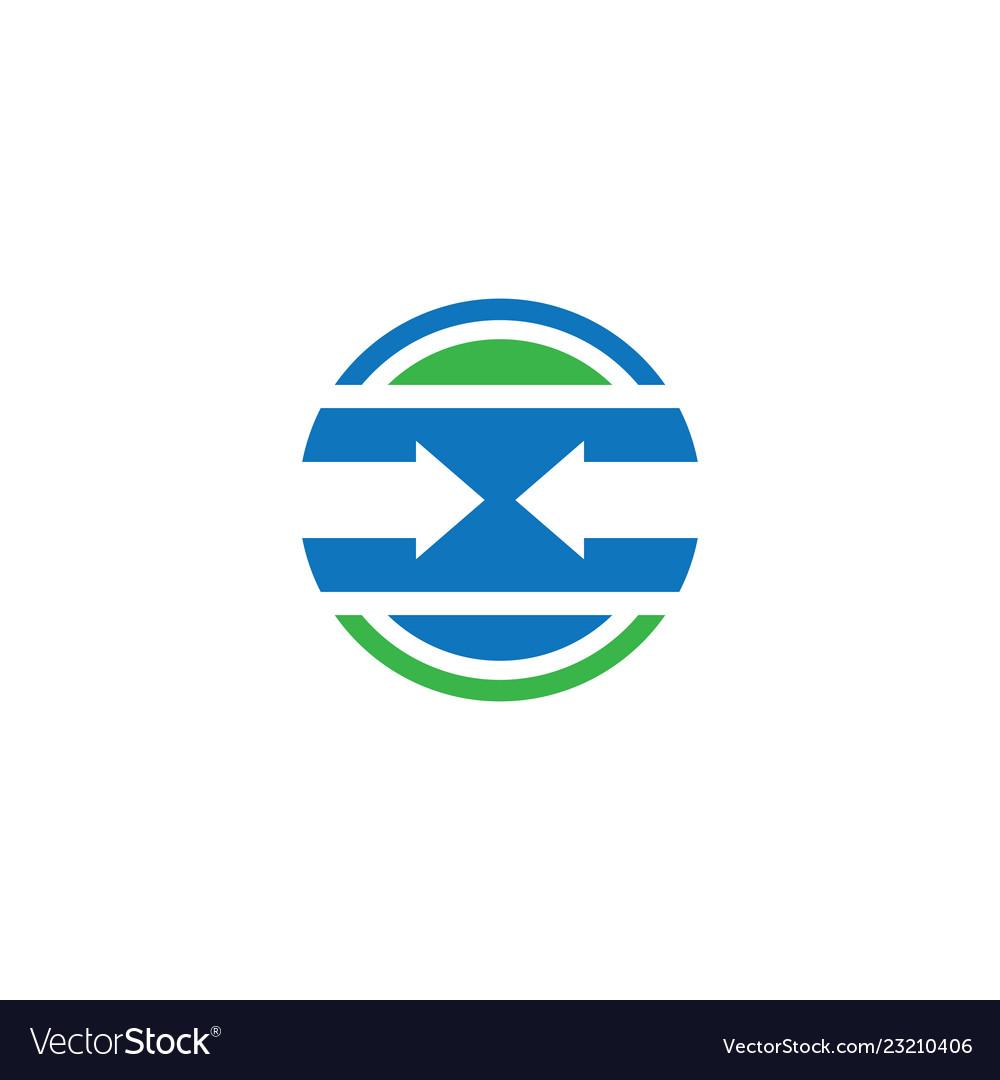 Circle arrow logo business