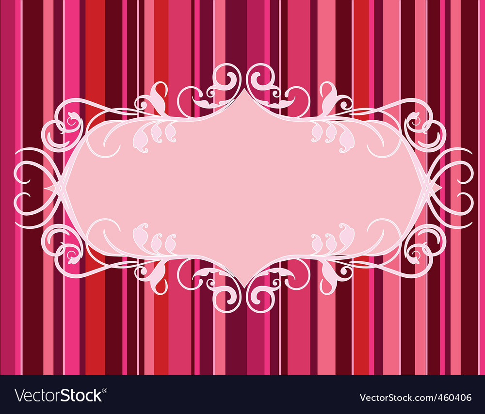 Lined background vector image
