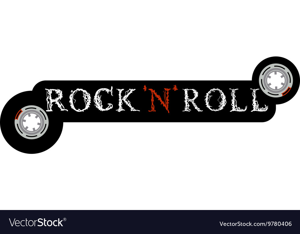 Rock and Roll Icon vector image