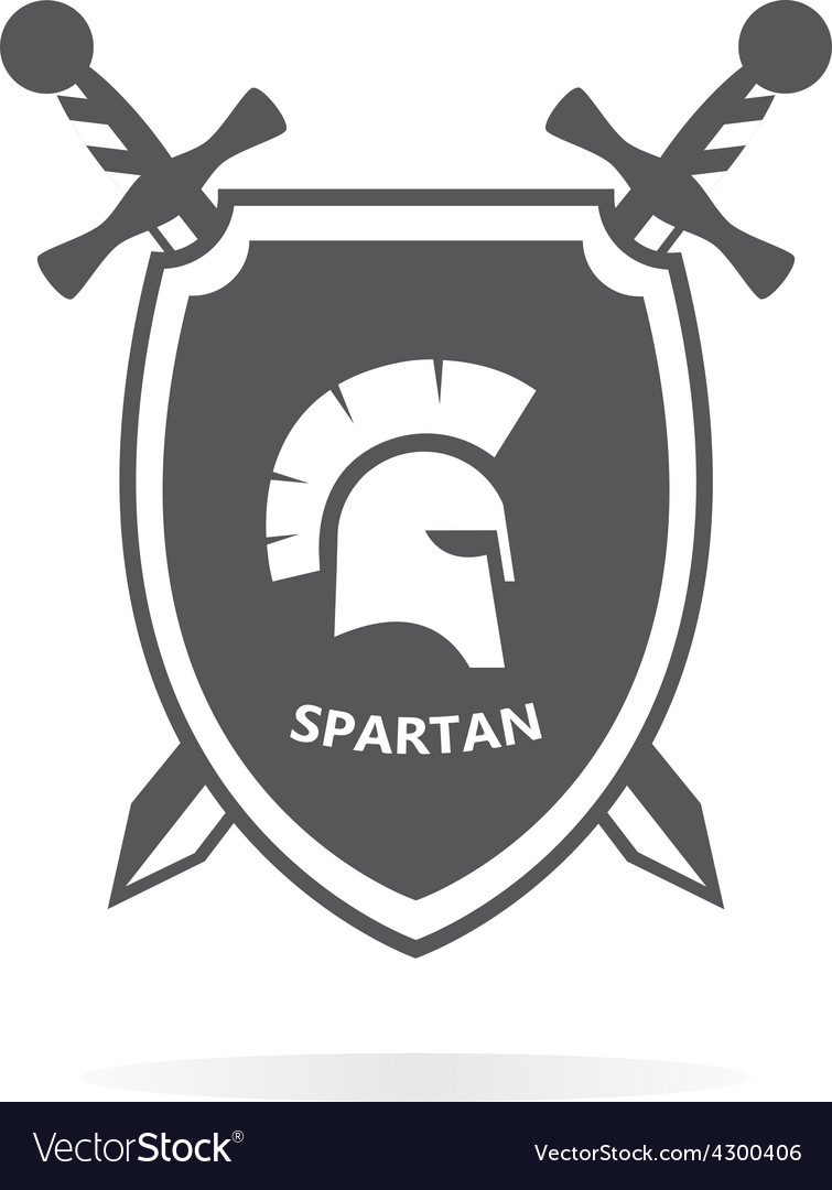 Spartacus heraldry logo design elements