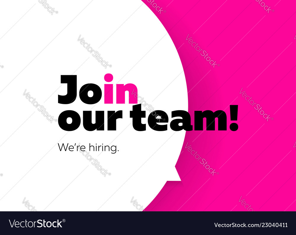 Join our team we are hiring background