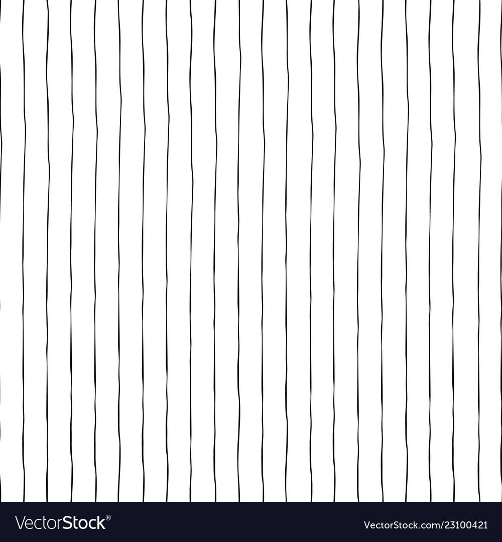 Black vertical hand drawn lines seamless