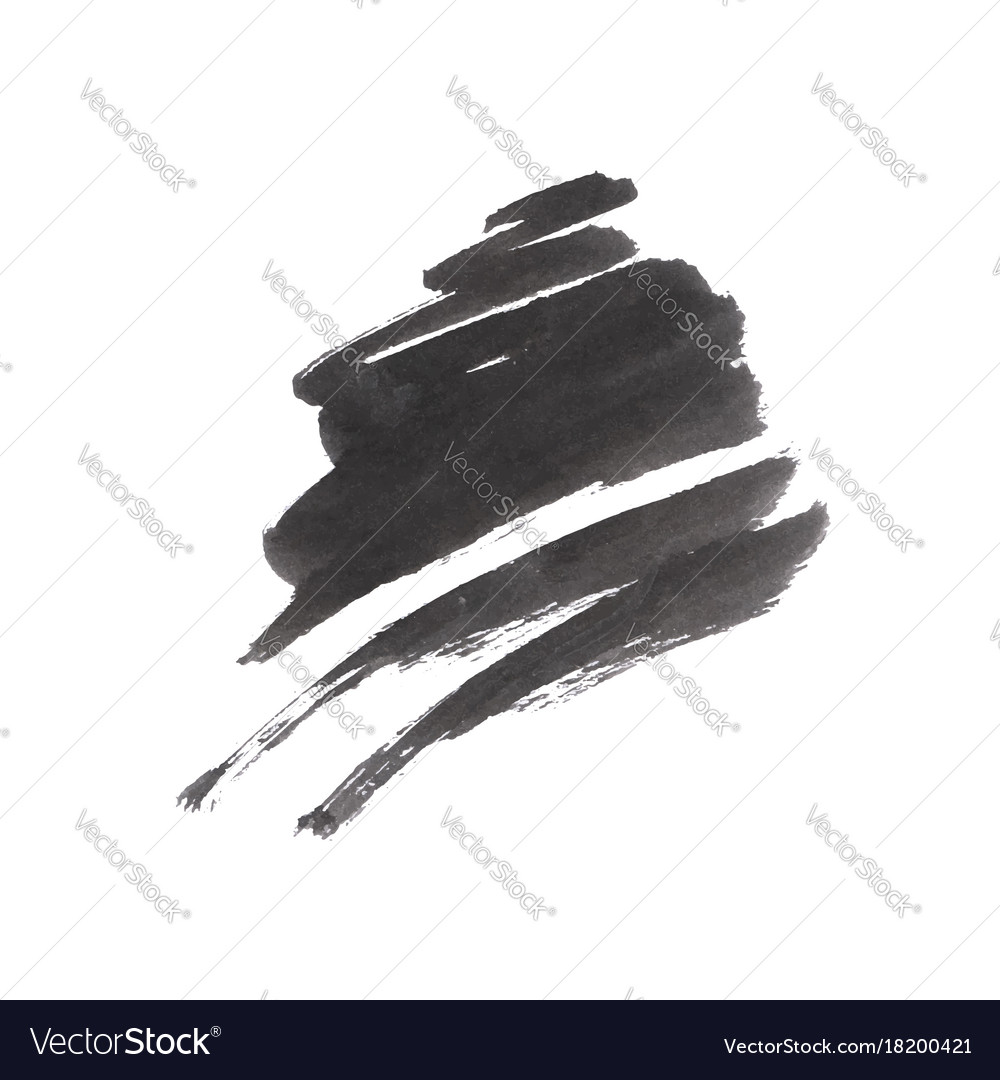 grunge brush stroke royalty free vector image vectorstock rh vectorstock com brush stroke vector graphic brush stroke vector free