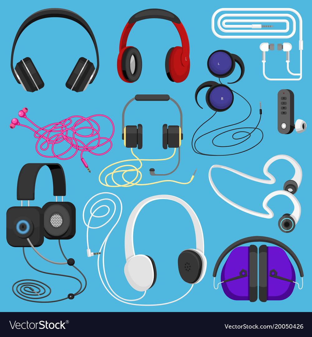 Headphones headset to listen