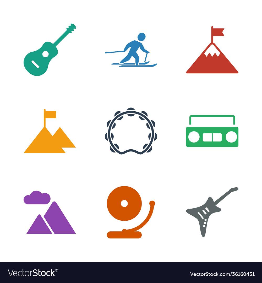 9 rock icons