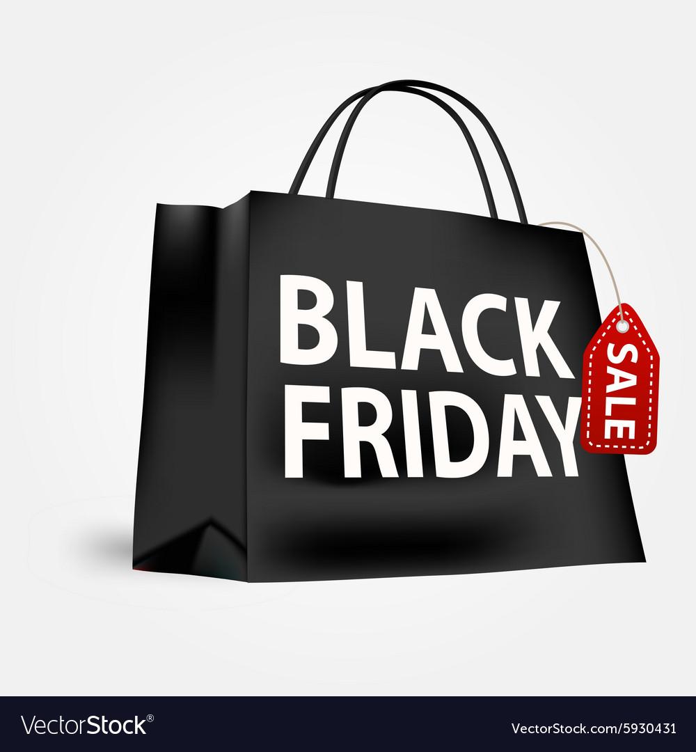 Black Friday Shopping Bag