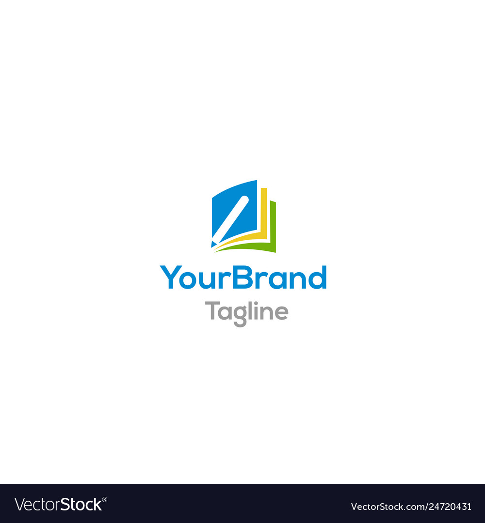 Creative education logo template