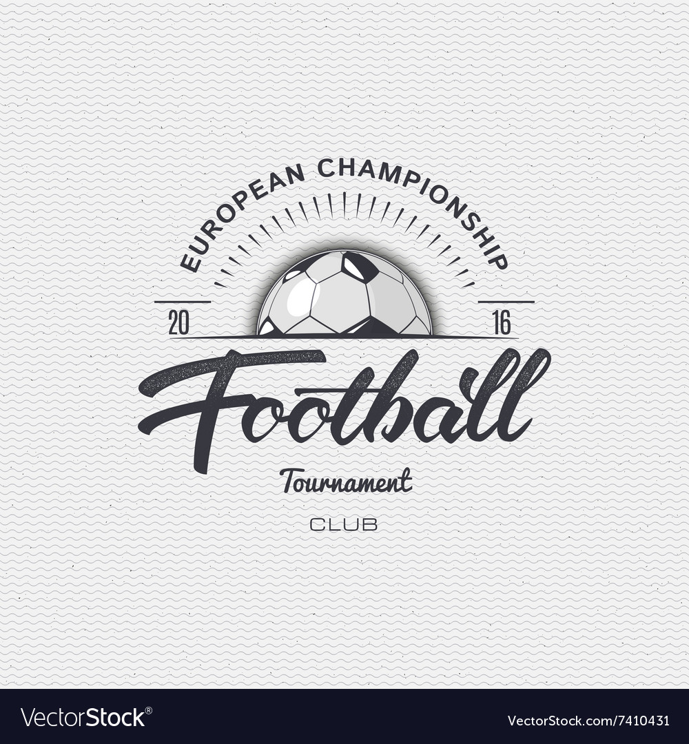 Football soccer tournament championship league