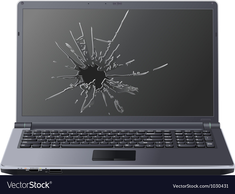 Laptop7 vector image