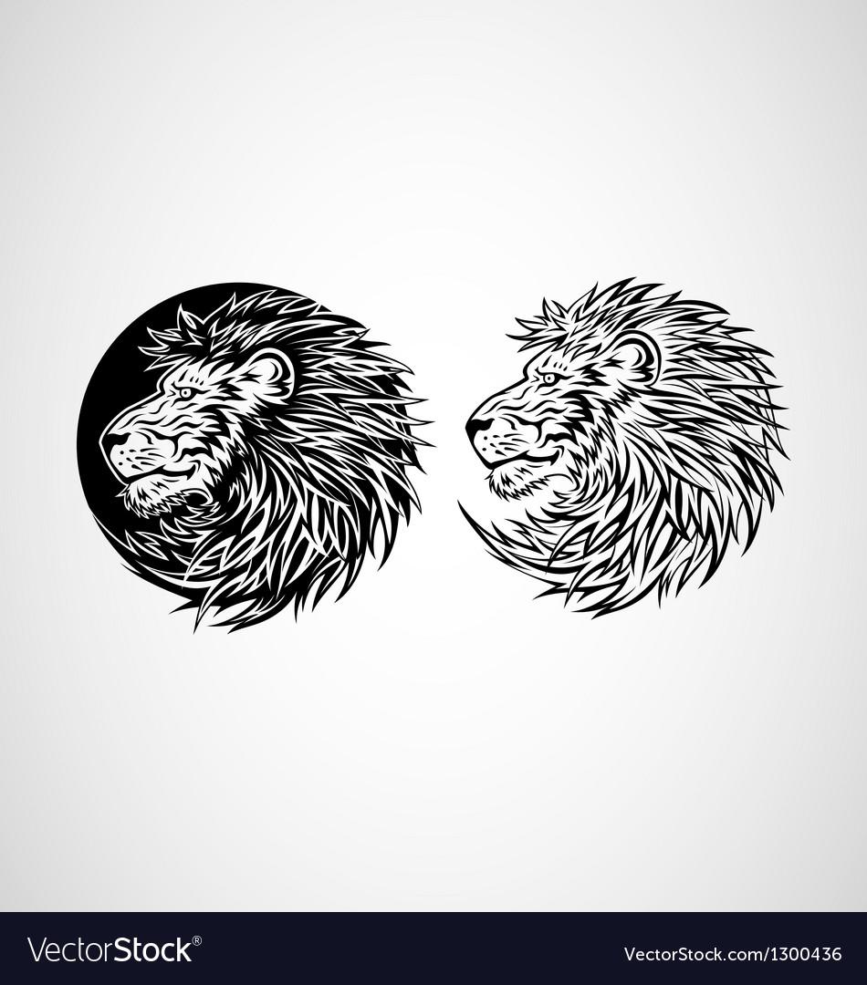 Lion Head Emblem