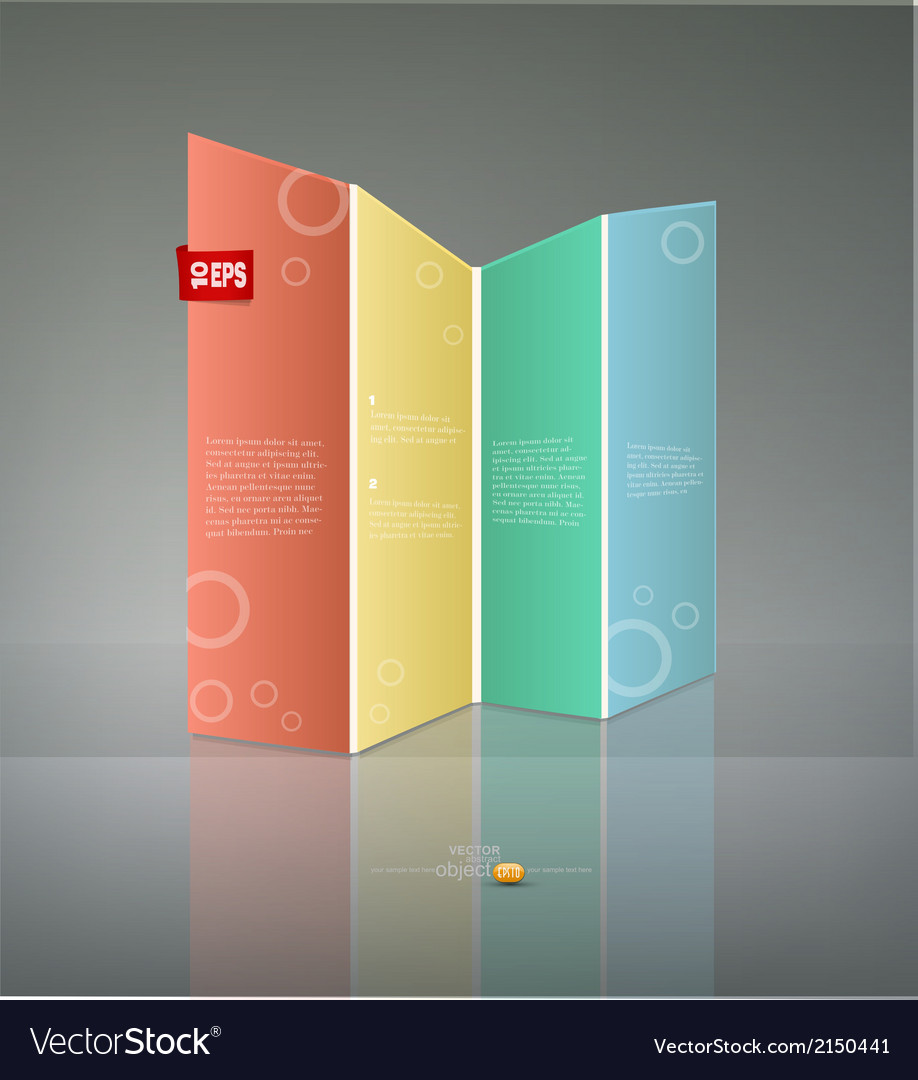 Abstract banner for business