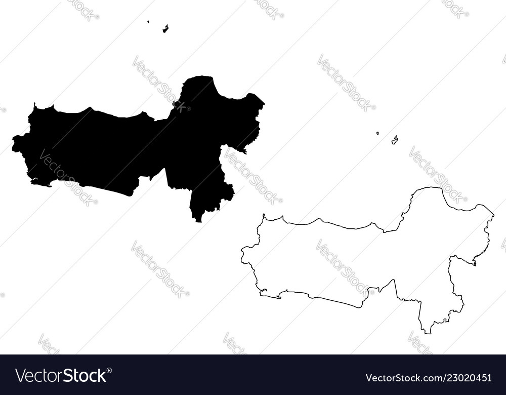 Central java map