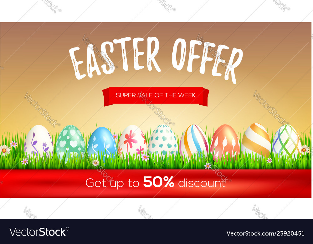 Easter sale limited offer get up to 50 percent