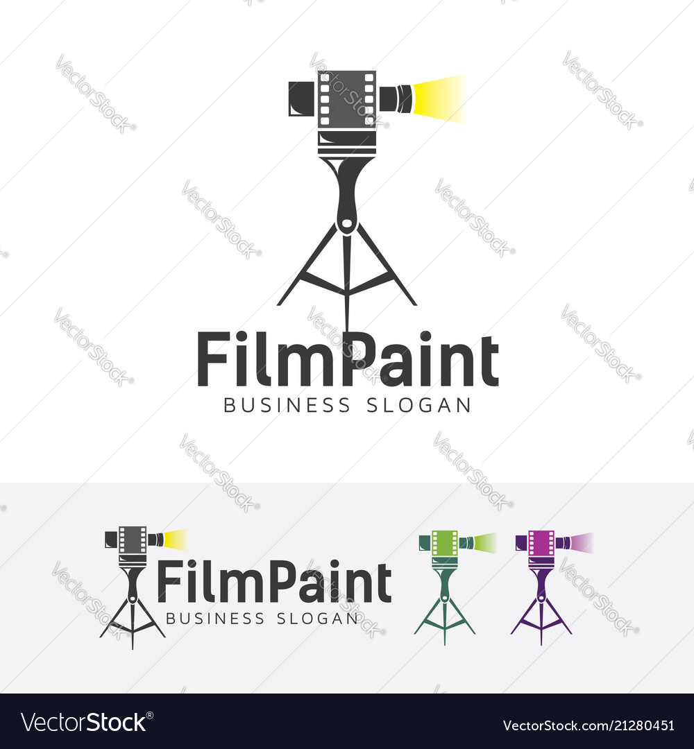 Film painting logo