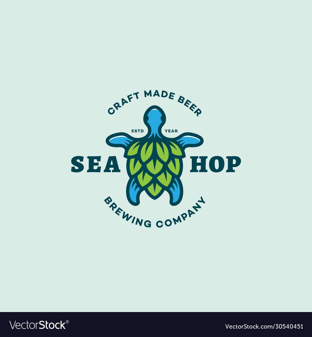 Sea hop logo