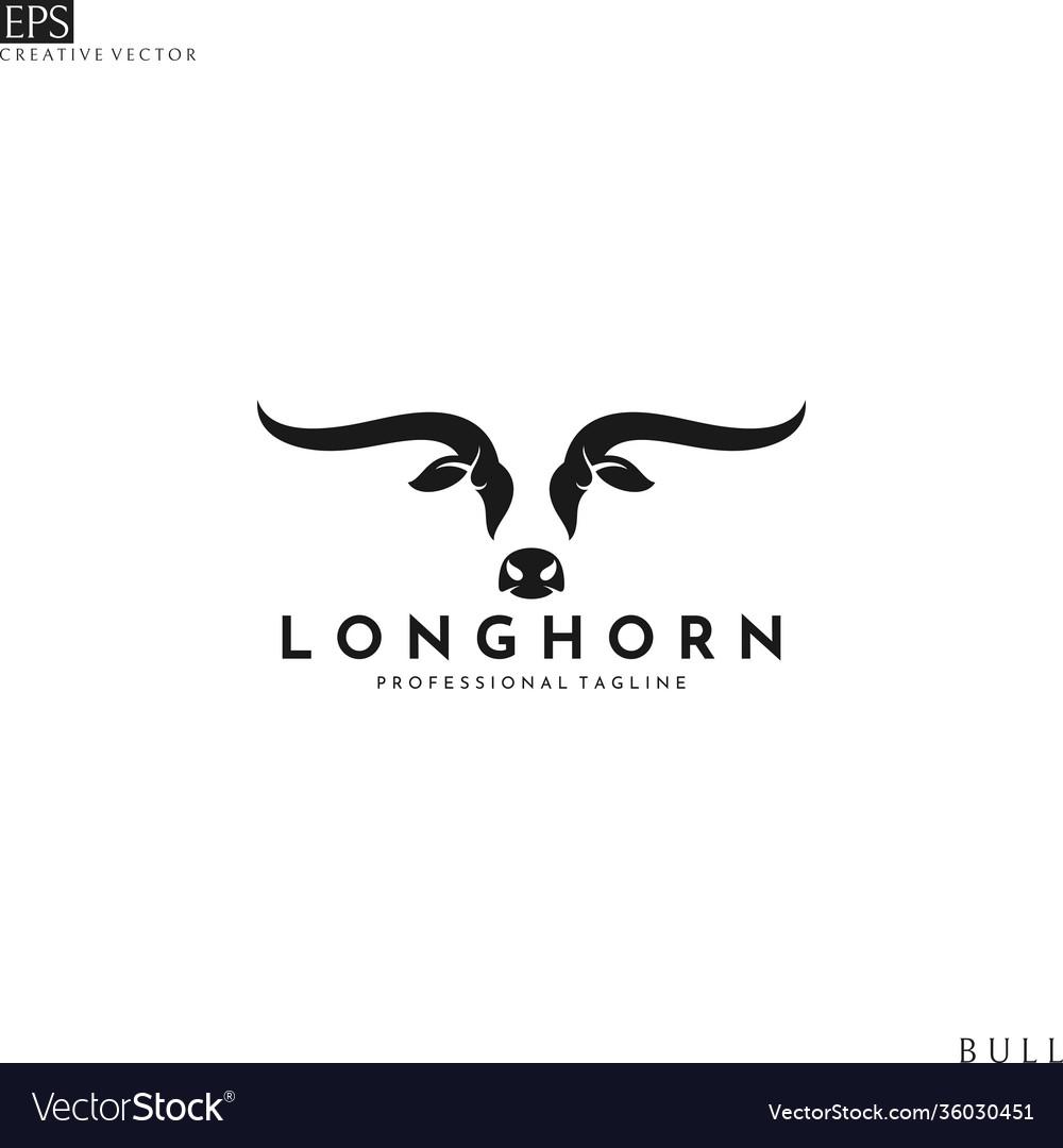 Texas longhorn bull logo