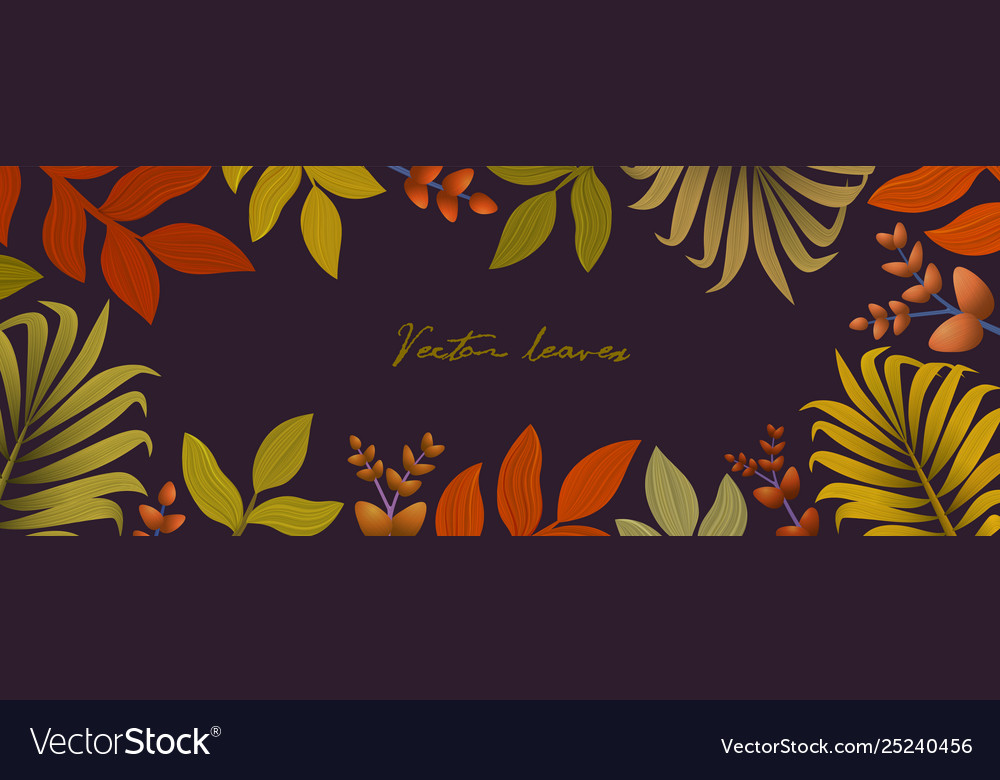 Autumn background with leaves for shopping sale