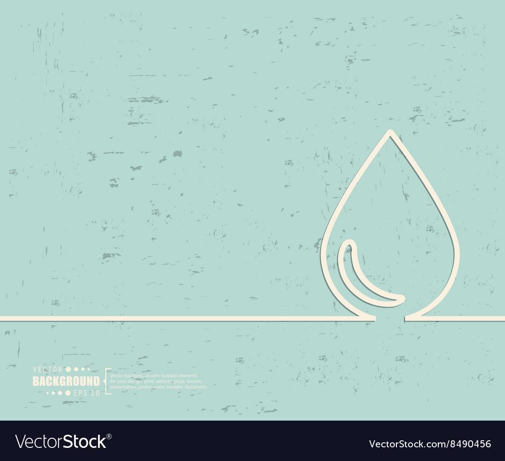 Creative water drop Art
