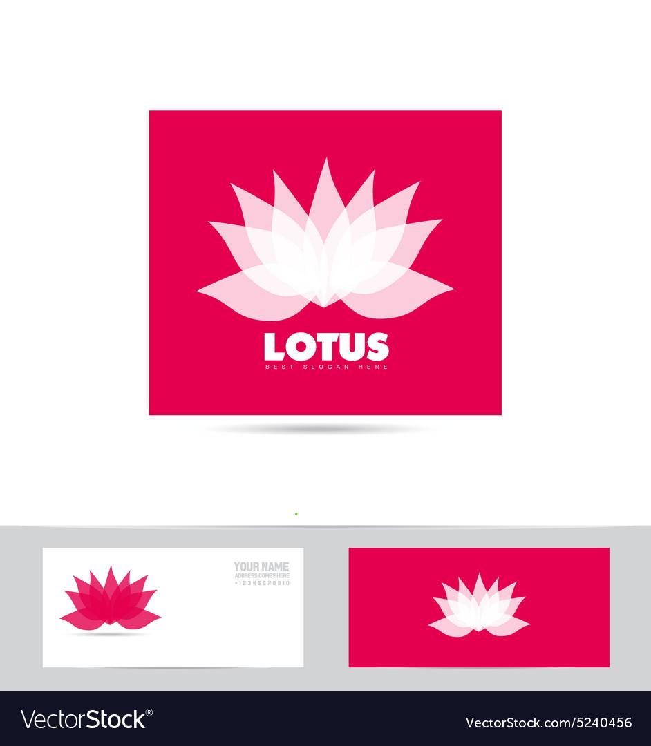 Lotus meditation logo
