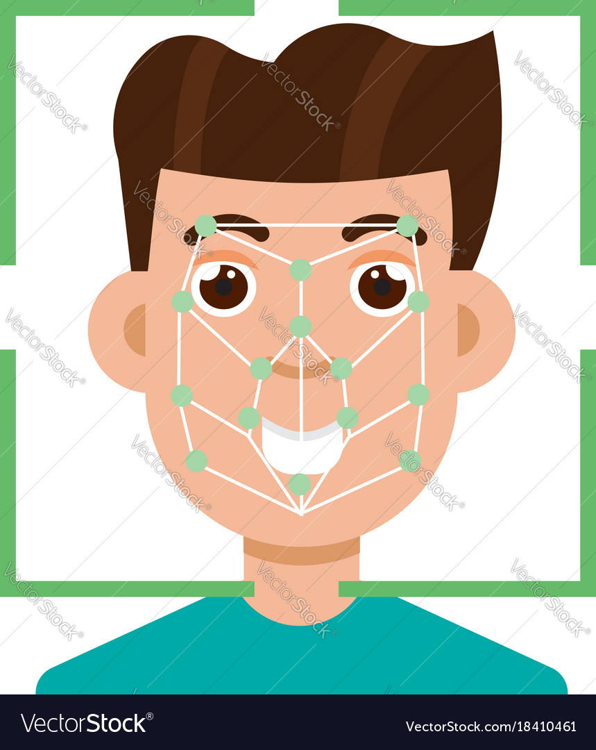 Biometric security identification face