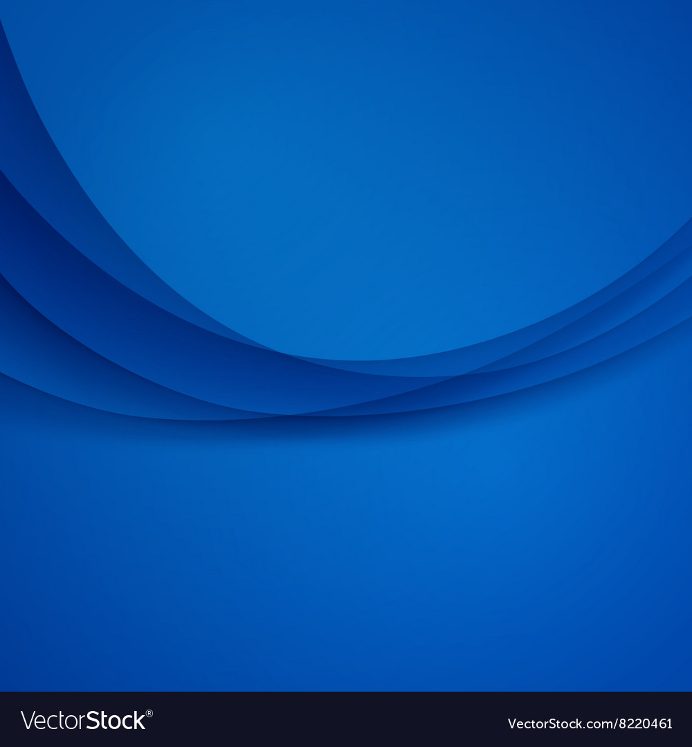 Blue Template Abstract background with