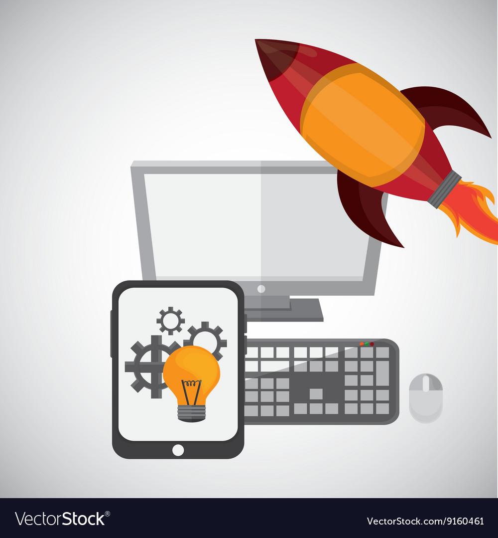 Idea design business concept Colorful