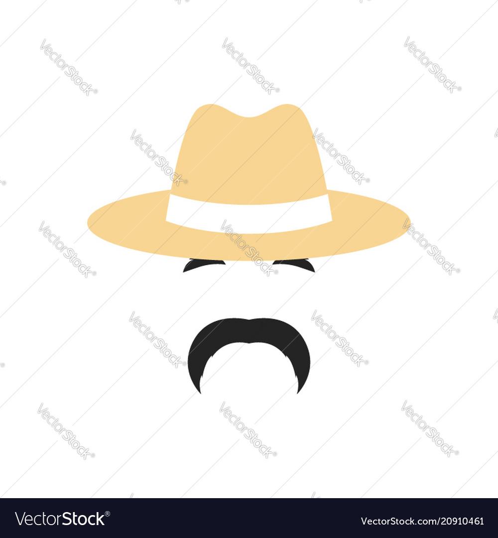 Portrait of a farmer man in a hat people