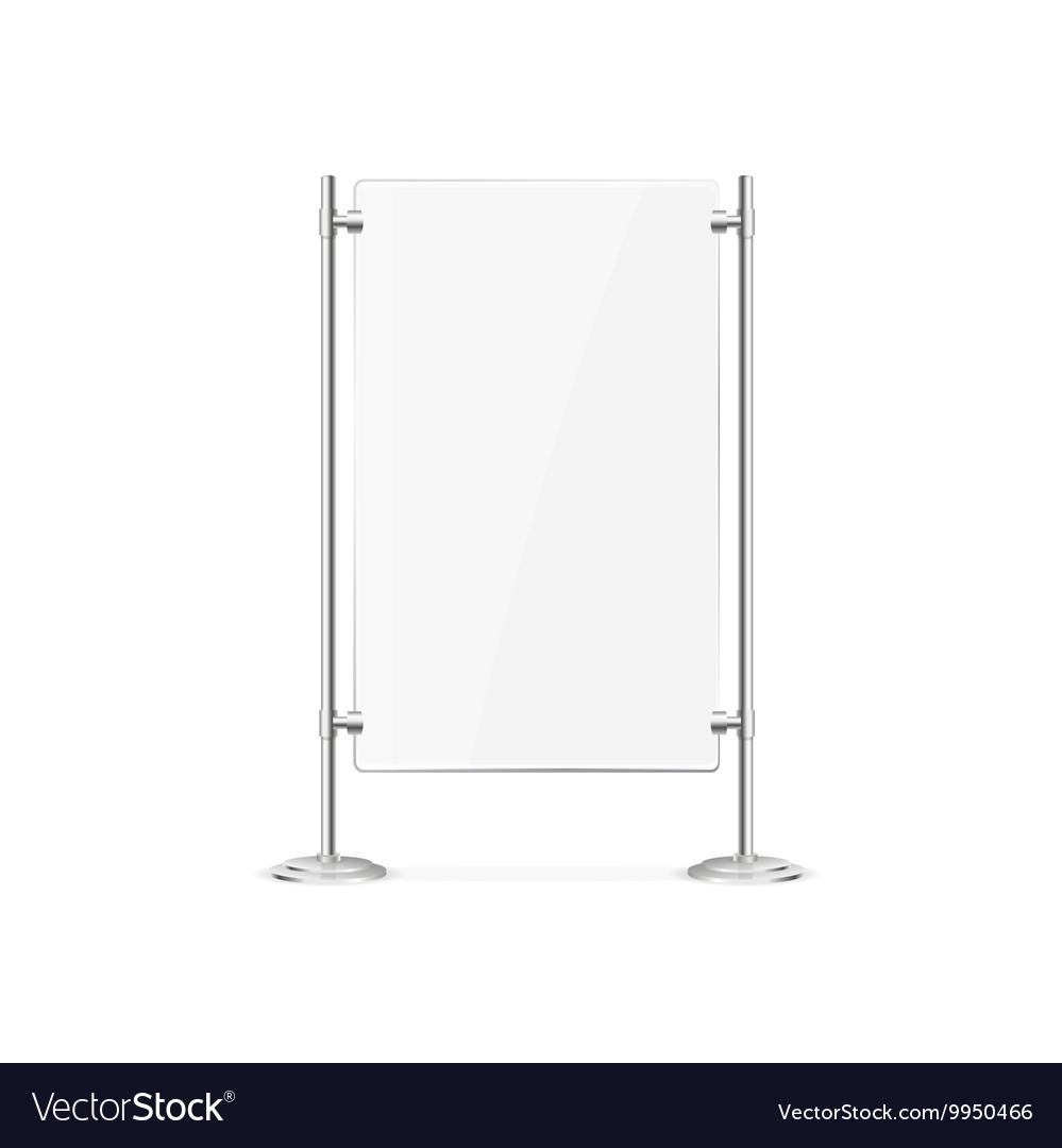 Glass Screen Banner vector image