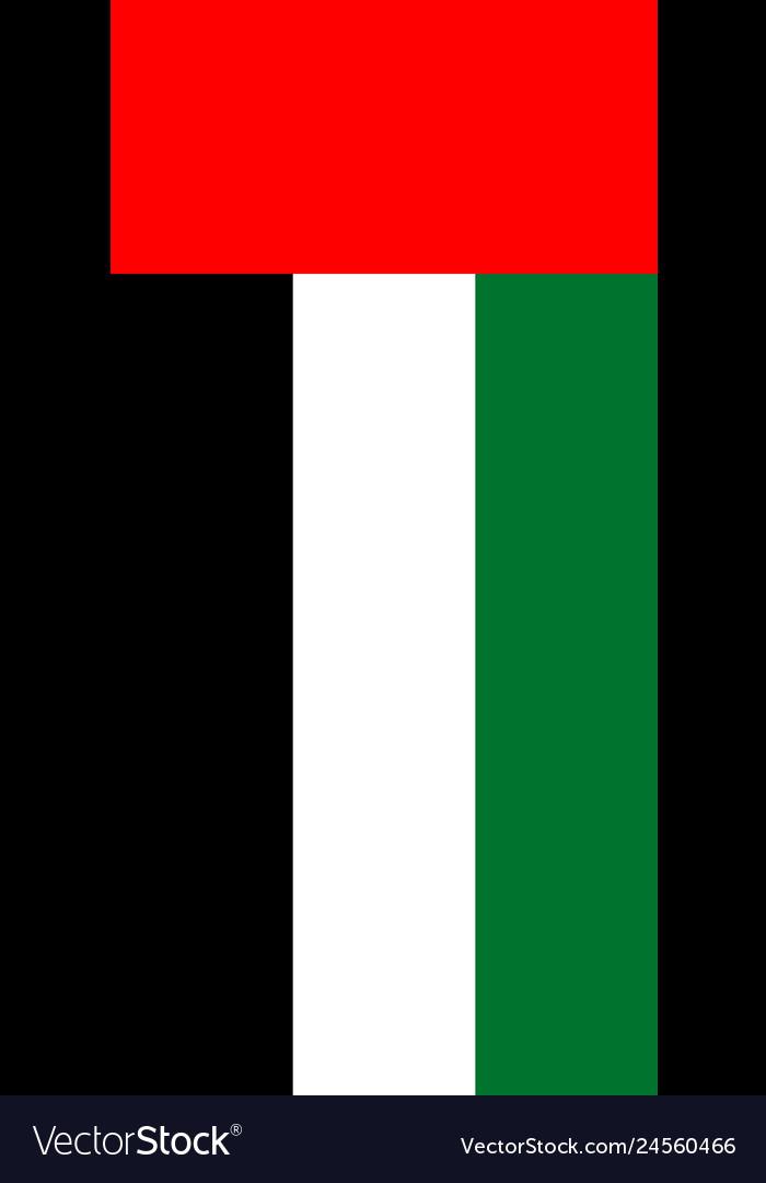 Hanging vertical flag