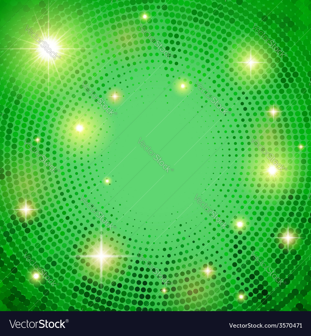 Abstract summer background with dotted circles