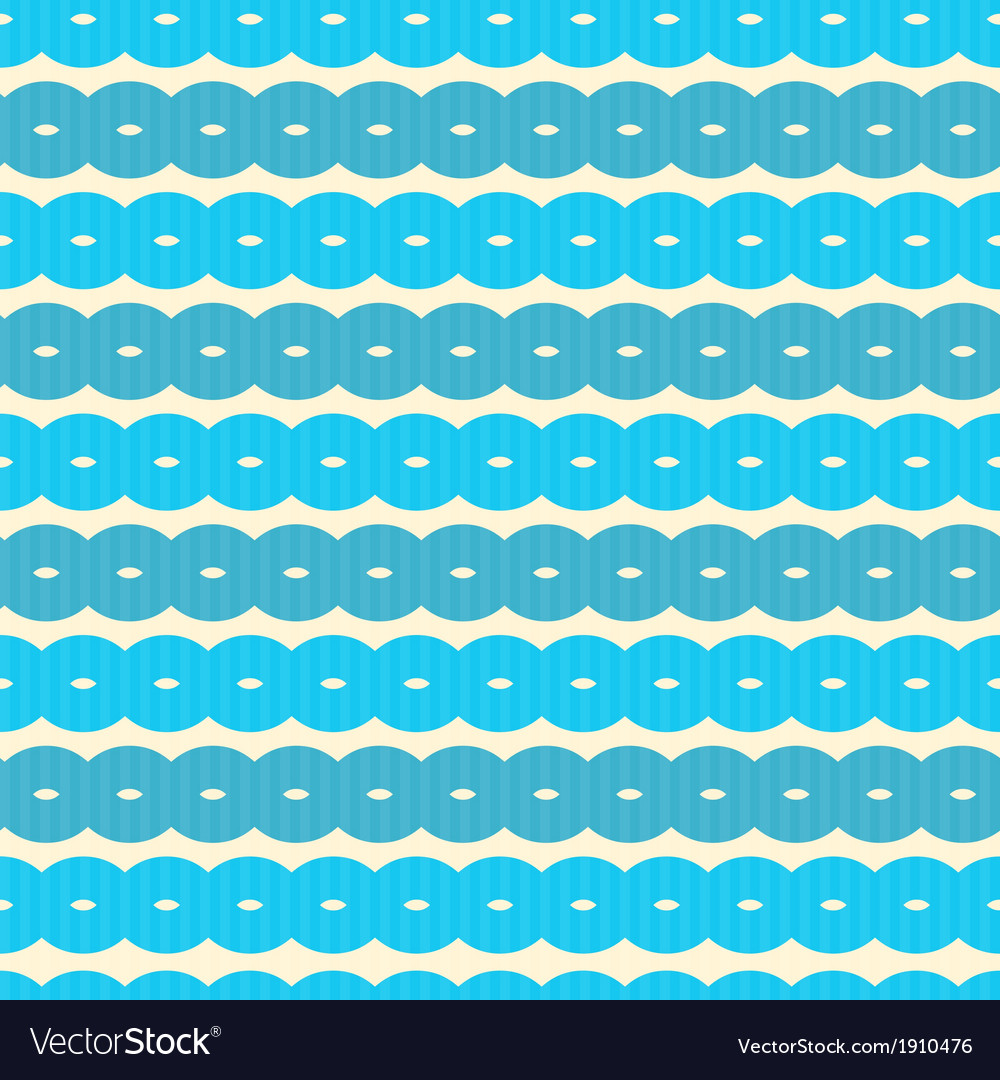 Abstract Retro Seamless Blue Background