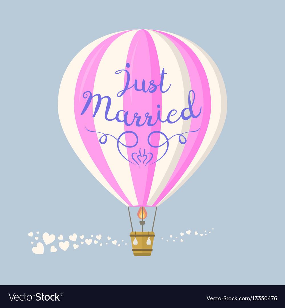 Ballon wedding aerostat transport
