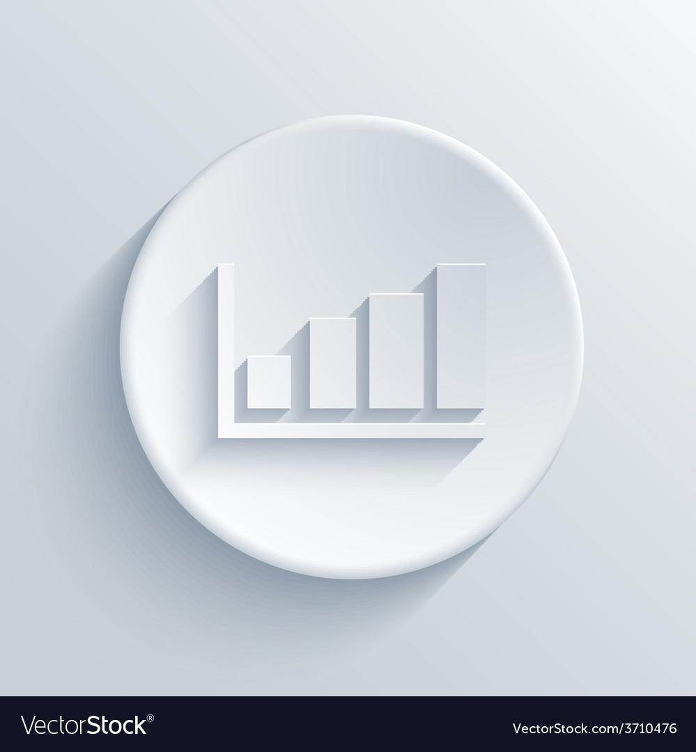 Modern graph light circle icon