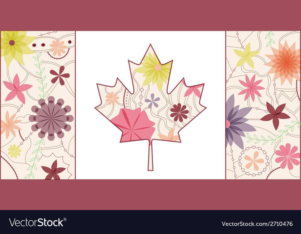 Vintage Canada flag 2
