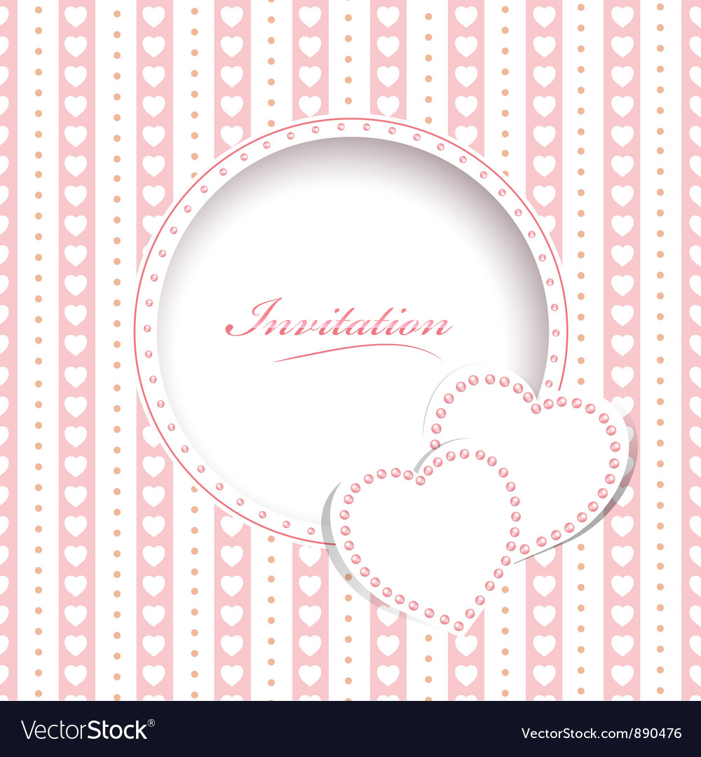 Wedding greetings or invitation card royalty free vector wedding greetings or invitation card vector image m4hsunfo
