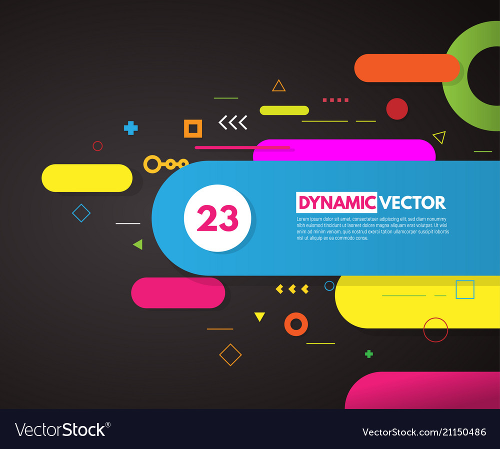 Abstract background with rounded corner shapes