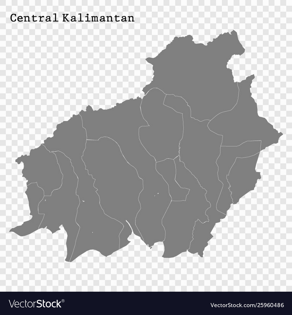 map kalimantan province vector images 73 vectorstock