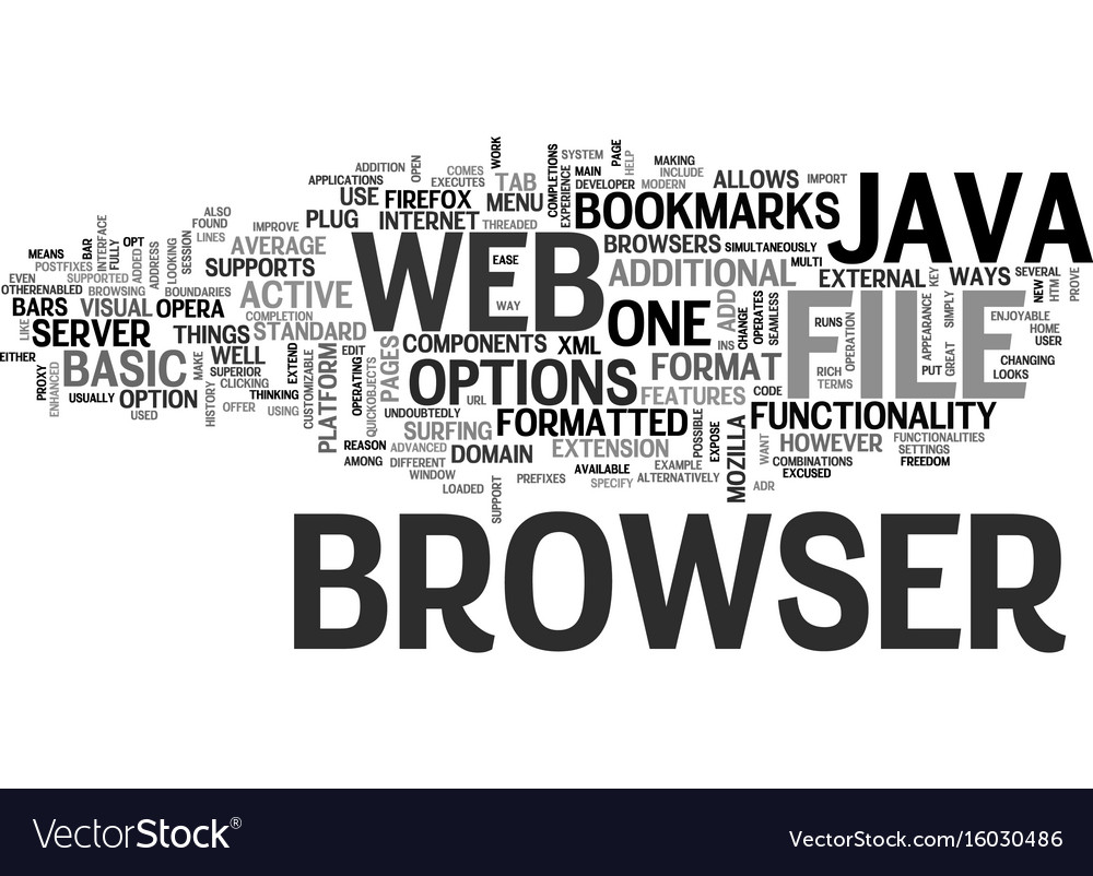 Java web browser text background word cloud
